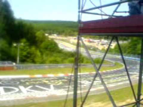24 h Nürburgring 2009 Letzte Std im Brünnchen  2