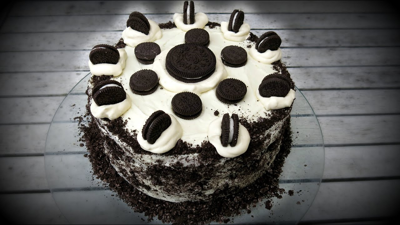 OREO COOKIES CREAM CHOCOLATE CAKE YouTube