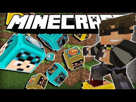 Minecraft Mod Showcase   YOUTUBER LUCKY BLOCKS! (POPULARMMO, STAMPY, DANTDM, ETC!)