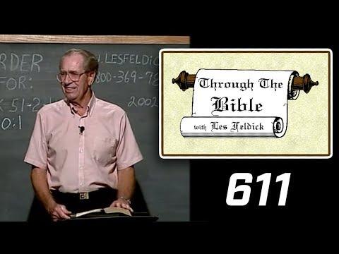 [ 611 ] Les Feldick [ Book 51 - Lesson 3 - Part 3 ] Hebrews 10:23-11:8  a