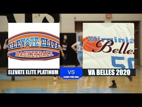 Elevate Elite (Platinum) vs Virginia Belles 2020