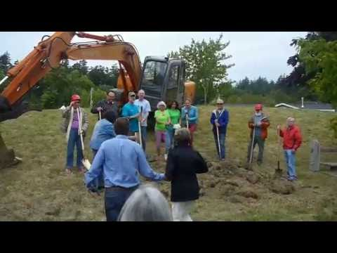 Orcas Island Library Expansion Groundbreaking Ceremony (with food!)