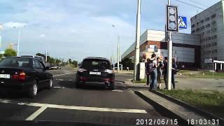 ДТП, 15 06 2013 Минск, BMW E34