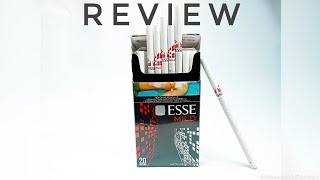 Wellcome to my channel 'Zona Cigarettes' . . Di video kali ini saya akan REVIEW rokok ESSE mild. Rokok ESSE berasal dari korea selatan yg pasti nya di ...