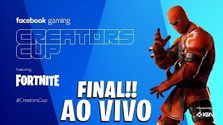 FORTNITE - FINAL CAMPEONATO CREATORS CUP DO FACEBOOK - 24/03/19 + LOJA