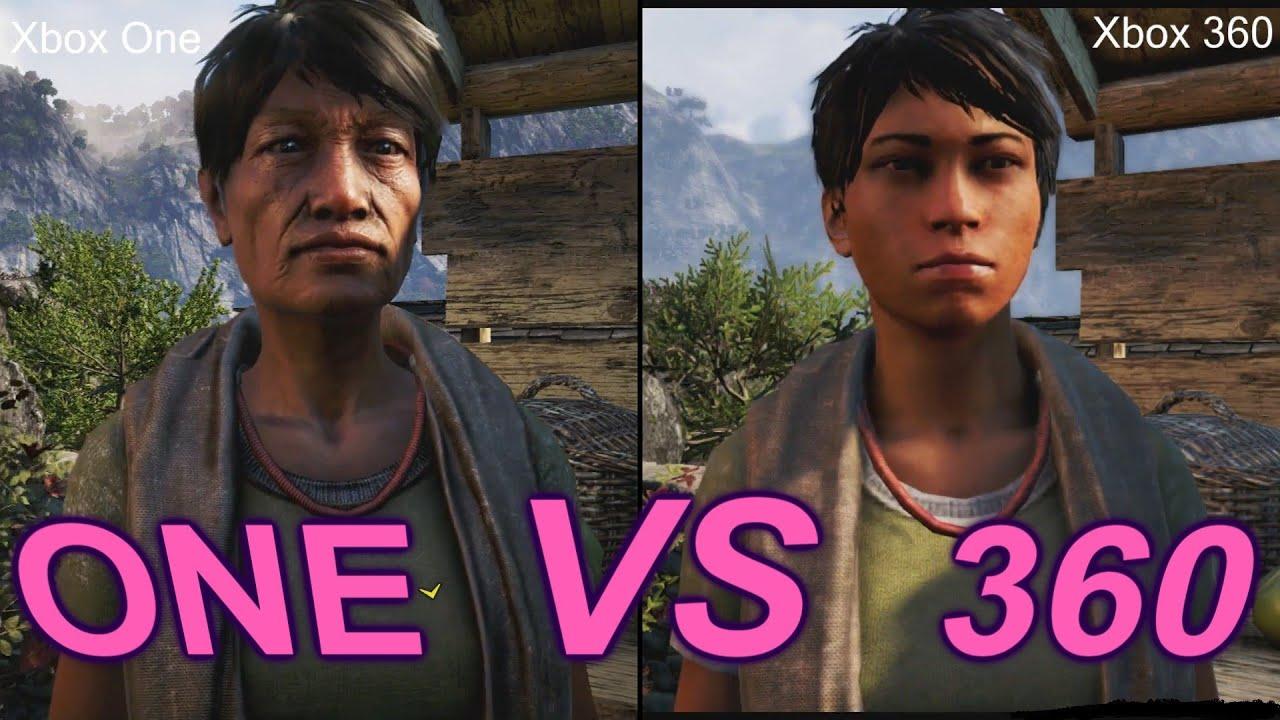 Far Cry 4 Xbox 360 Vs Xbox One Graphics Comparison - YouTube