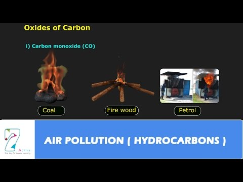 AIR POLLUTION  HYDROCARBONS