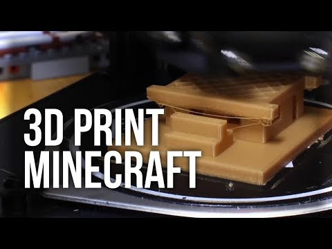 How to 3D Print Your Minecraft Builds