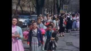 Lag B'omer Parade 5716 - 1956