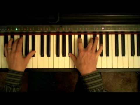 How to play on piano Clocks by Coldplay