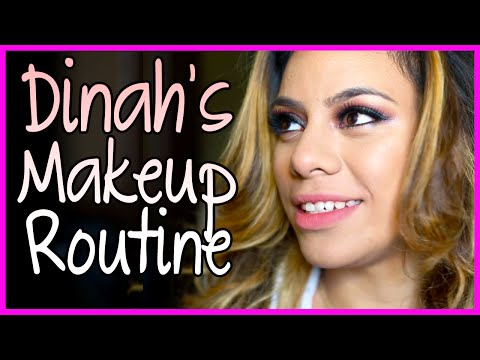 Dinahs MakeUp Routine - Fifth Harmony Takeover