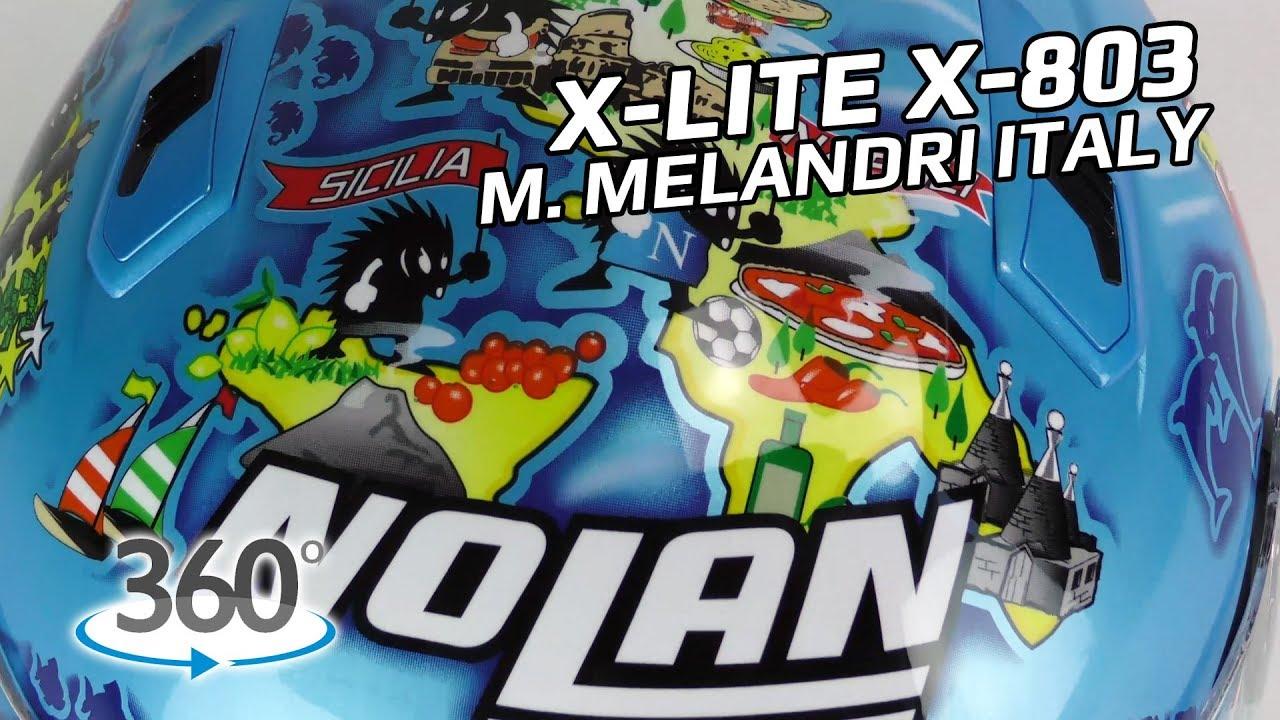 X-Lite X-803 M. Melandri Italy - 360° Oram