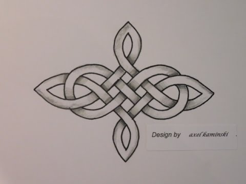 keltischer knoten 53 bandverl ufe design 5 youtube. Black Bedroom Furniture Sets. Home Design Ideas