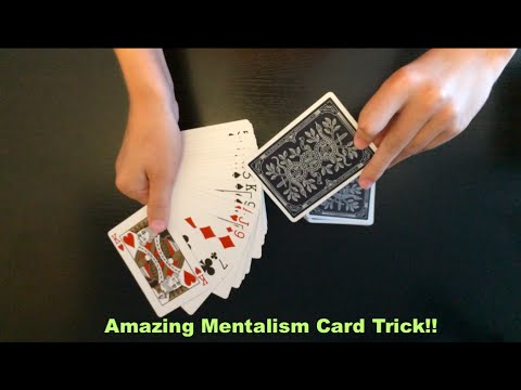 The Simplest Yet Most Amazing Mentalism Card Trick Revealed