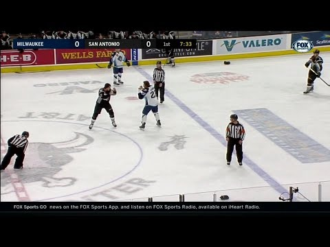 2018 AHL Milwaukee at San Antonio 1 12 2018