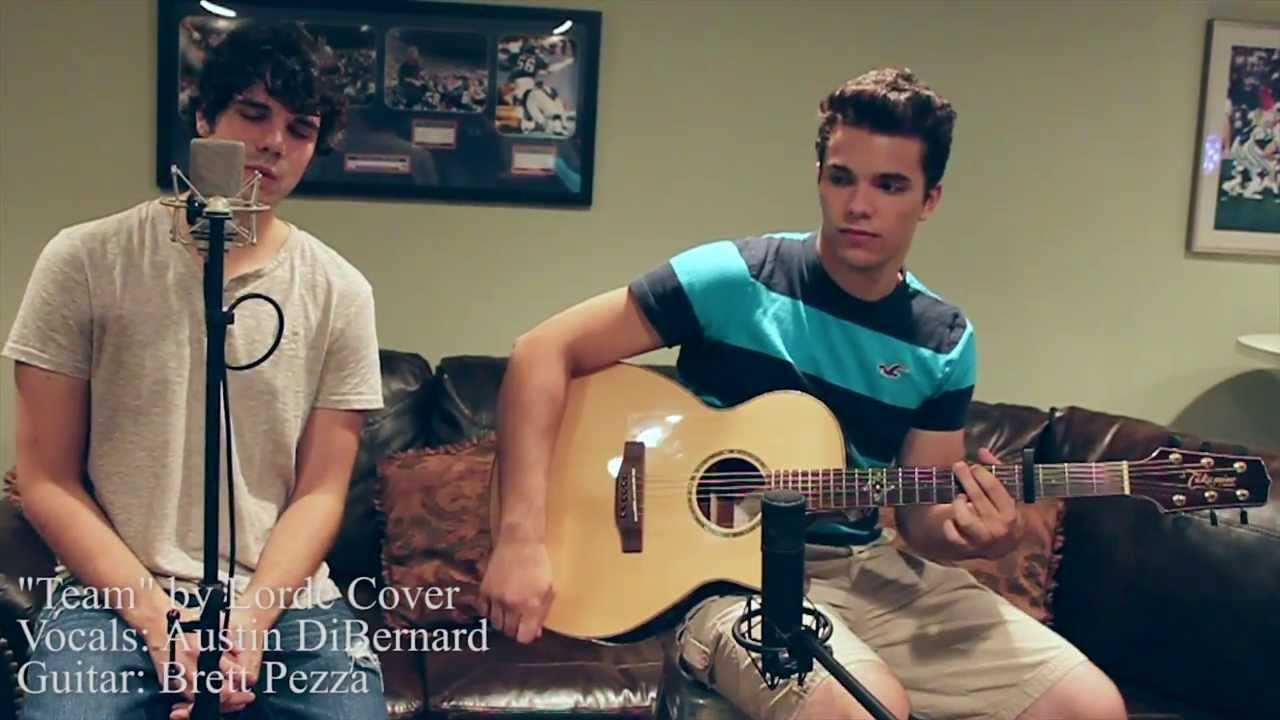 Team - Lorde (Cover) by Austin Christopher - YouTube