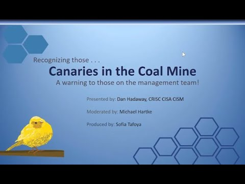 Canaries in a Coal Mine Webinar Movie