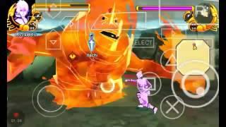 Sasuke Mod Texture Cakra Susano'o || Naruto Impact ppsspp