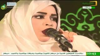 سهرة وزارة الثقافة على شرف ضيوف القمة العربية - ليالي العرب -23-/07/2016 - قناة الموريتانية