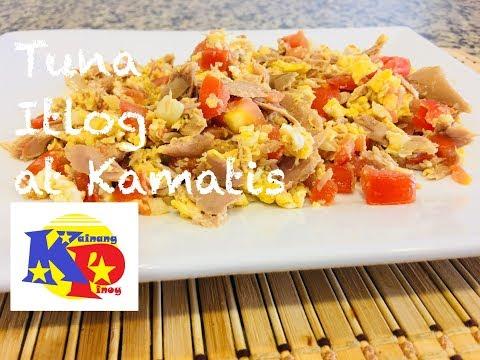 Tuna, Itlog At Kamatis Recipe - Sarap Sa Agahan :)
