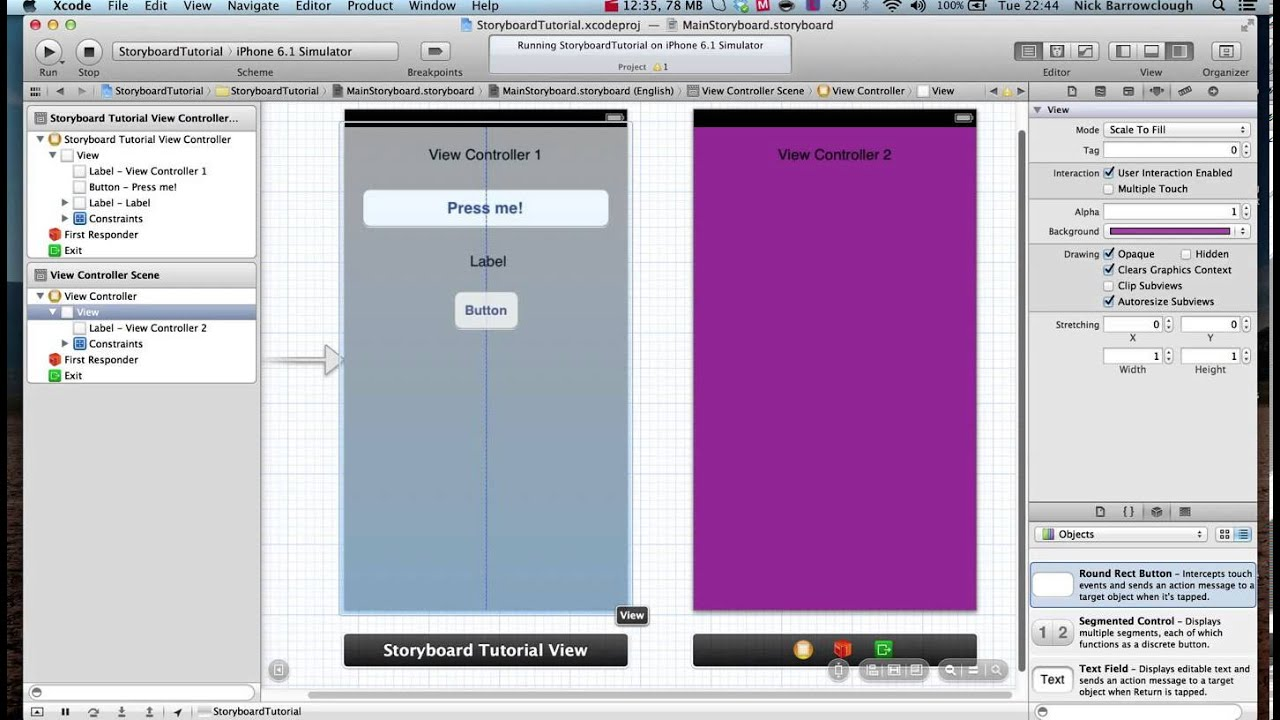 Learn Xcode - Tutorial 1