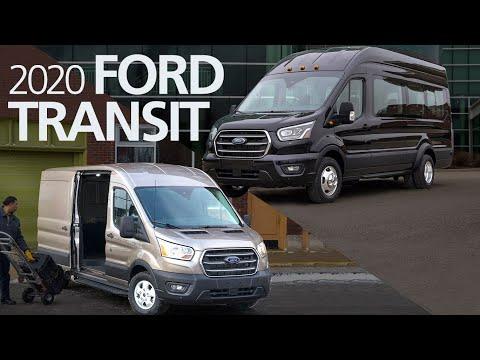 2020 Ford's All-Wheel-Drive Transit Cargo Van And Passenger Van