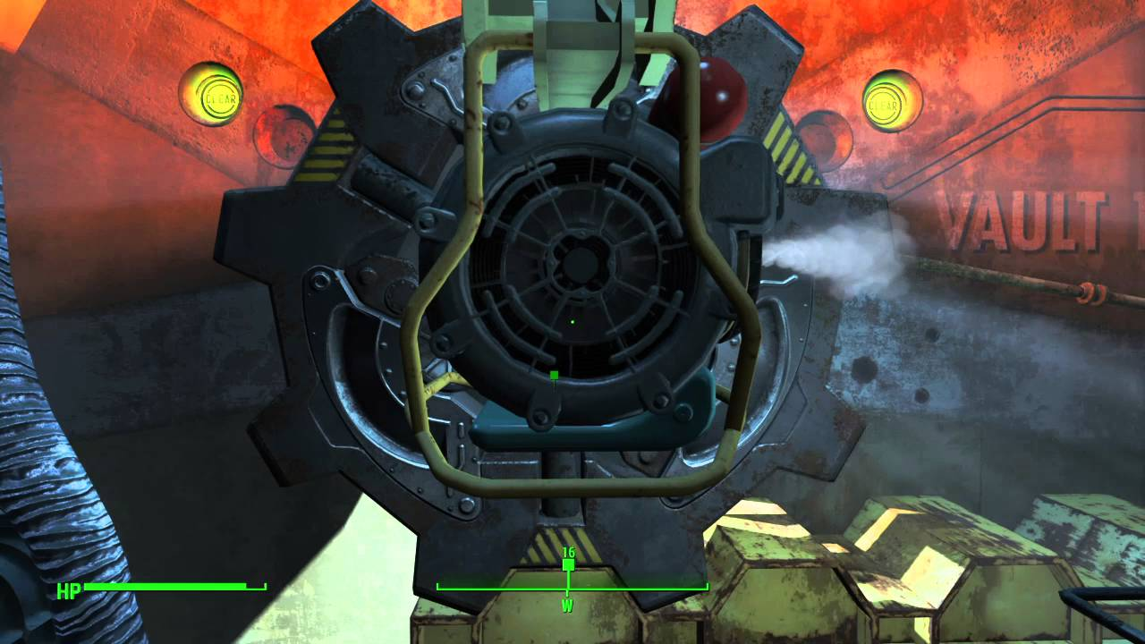 Fallout Vault Door fallout 4: vault door opening - youtube