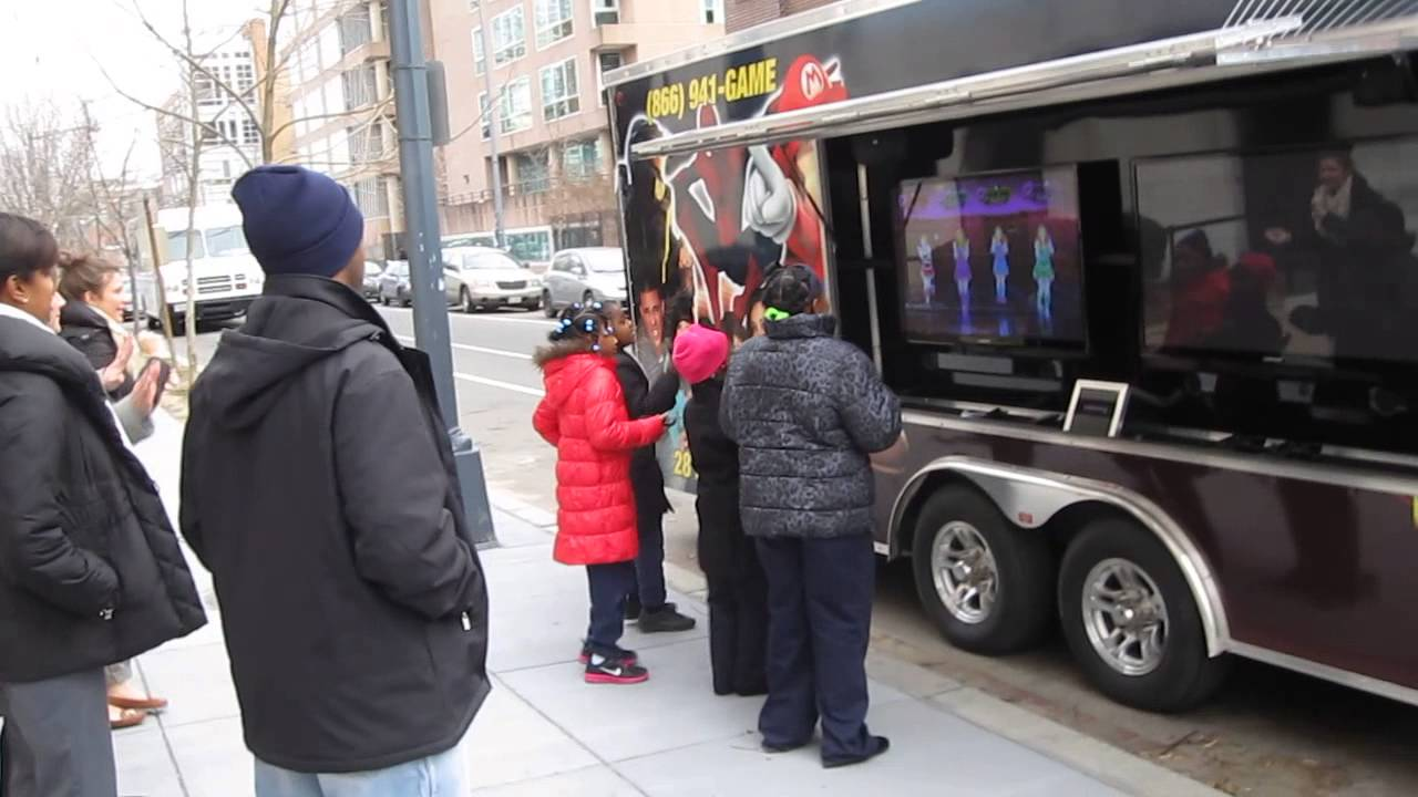 The Best Birthday Party Idea In Richmond VA Have A Mobile Game Truck