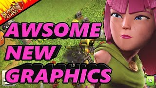 AWSOME NEW GRAPHICS + CLAN GAMES!!! Clash Of Clans With MARIOSONIC