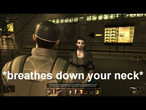 Deus Ex HR: Adam Jensen the Augmented People Person