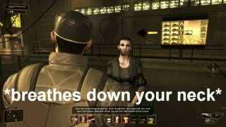 Deus Ex HR: Adam Jensen the Augmented People Person