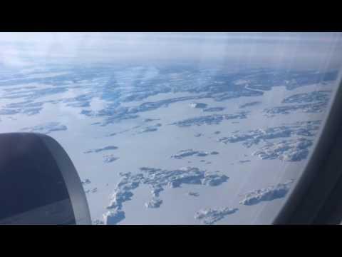 Timelapse flight: Amsterdam to Minneapolis