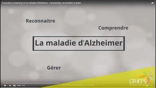 Formation e-learning sur la maladie d'Alzheimer : comprendre, reconnaître et gérer