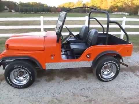 1968 Jeep Cj5 Youtube
