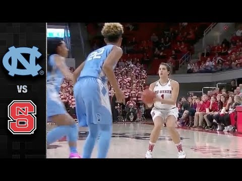 North Carolina vs. NC State Women's Basketball Highlights (2017-18)