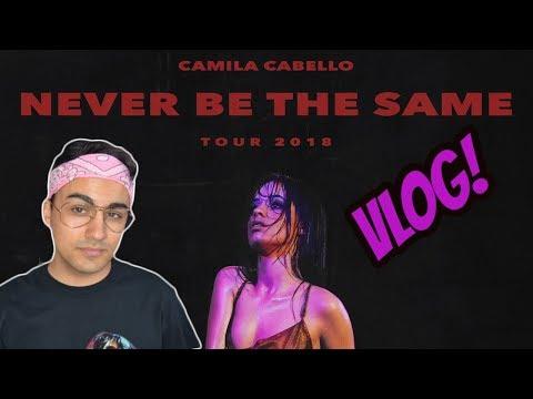 VLOG: Camila Cabello - Never Be The Same Tour - Barcelona  JJ