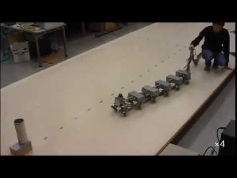 Robot that can mimics Centipedes Locomotion