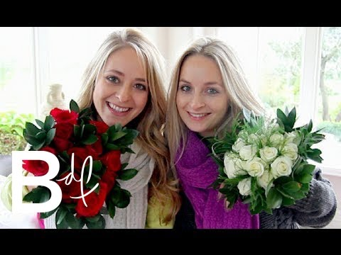 Perfect straight edges- Fresh Flower Bouquet Cake Tutorial- Rosie's Dessert Spot von YouTube · Dauer:  12 Minuten 3 Sekunden