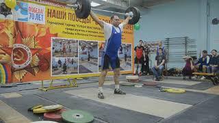 МС СССР Олег Сайтырлы (в.к.105+ кг) рывок 120 кг + толчок 140 кг