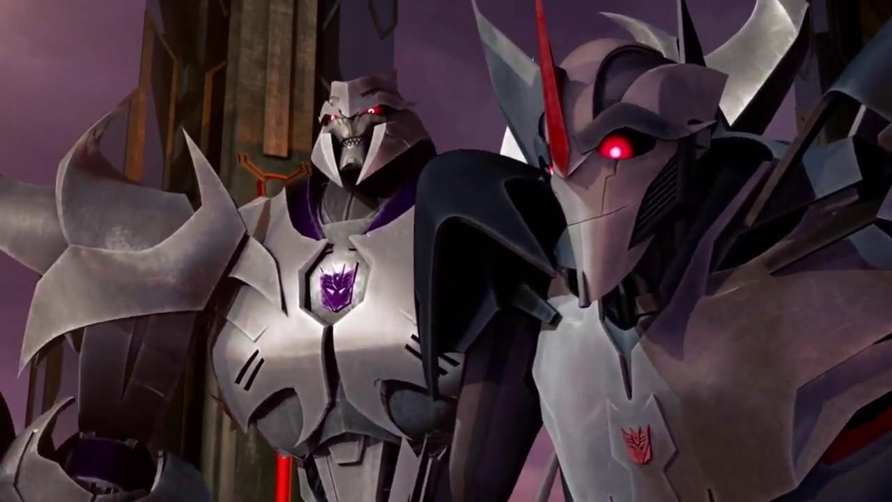 Transformers prime beast hunters optimus prime vs megatron - Transformers cartoon optimus prime vs megatron ...