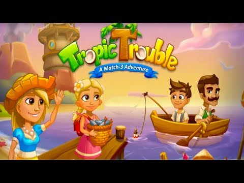 Tropic Trouble Match 3 Builder Android (Early Access )