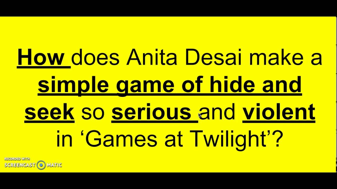 Games At Twilight Analysis Video 4 Youtube