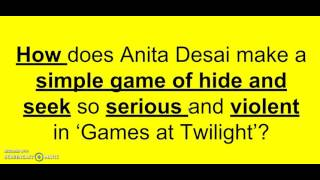Games At Twilight Analysis Video 4