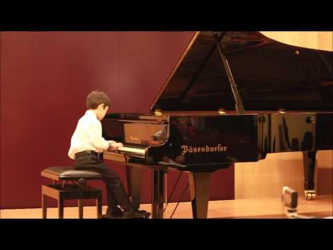 Kai Gergov (6 years old) Variations on a Thema of Paganini