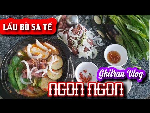 Vlog 66# Bí Quyết Nấu LẪU BÒ SA TẾ.||CÀ TÍM||.MIẾN.Cách Nấu Lẩu Bò.Thơm Ngon🥘