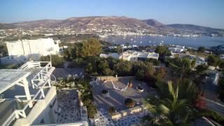 Krotiri Bay  Hiliolithos Bay Paros - Aerial Video Typhoon Q 500 4K Yuneec(, 2016-06-30T14:50:50.000Z)