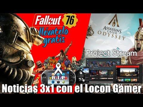 Fallout 76 cayo lo más bajo que podía caer | El Streaming de Google en marzo? | PSVITA dice Adiós thumbnail