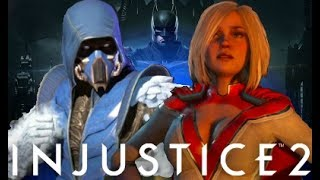 Injustice 2 Sub Zero All Premier Skins Intros/Dialogue