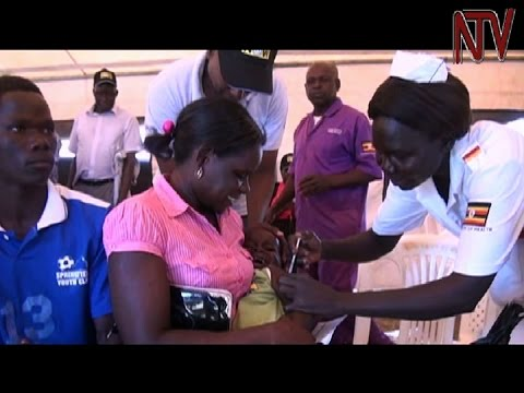 Ministry of health launches mass meningitis immunisation campaign in Omoro district