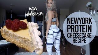 New York Protein Cheesecake Recipe + New Lululemon